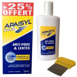 APAISYL POUX (LOT-SHAMP+ΧΤΕΝΑ) 200ML