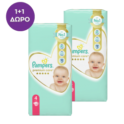Pampers Premium Care No 4 (9-14kg) 2x52τμχ