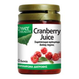 POWER-CRANBERRY JUICE 30TBL