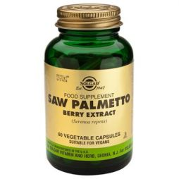 solgar sfp saw palmetto berry extract 60caps