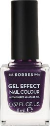 Korres Gel Effect Nail Colour No.75 Violet Garden Βερνίκι Νυχιών, 11ml