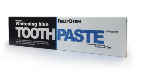 Frezyderm Instant Whitening Blue Toothpaste