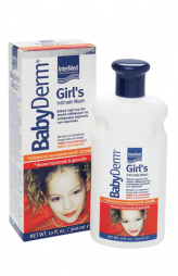 BABYDERM GIRLS INTIM WASH 300ML