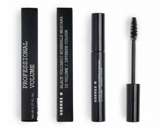 ΚΟΡΡΕΣ BLACK MINERALS MASCARA VOLUME