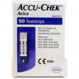 ACCU-CHECK Aviva Test Glucose 50Strips