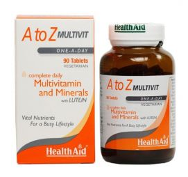 HEALTH AID A TO Z MULTIVIT tablets 90's