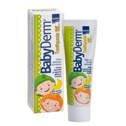 Intermed Babyderm Toothpaste με Γεύση Μπανάνα 50ml