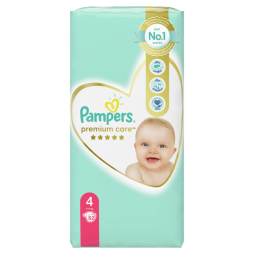 Pampers Premium Care No 4 (9-14kg) 52 τμχ