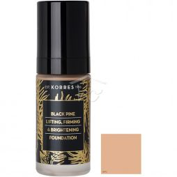 KORRES BLACK PINE MAKE-UP BPF2 30ML