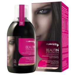 SOLGAR MY ELEMENTS BEAUTIN COLLAGEN (Μάνγκο/Πεπ) 500ML