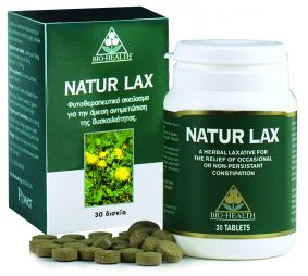 POWER HEALTH-NATUR LAX 30S