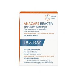 DUCRAY ANACAPS REACTIV 30CAPS