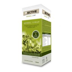 F ECTIVE Herbal Syrup Adults Sugar Free 100ml