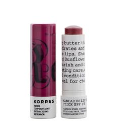 ΚΟΡΡΕΣ LIP BUTTER STICK MANDARIN SPF15 PURPLE