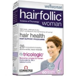 Vitabiotics Wellwoman Hairfollic (Tricologic) Woman, 60 ταμπλέτες