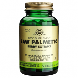 Solgar Saw Palmetto Berry Extract 60 φυτικές κάψουλες