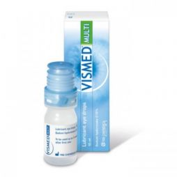 VISMED MULTI LUBRICANT EYE DROPS 10ML