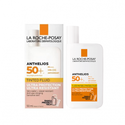 La Roche Posay Anthelios Tinted Fluid with Shaka Protect Αντιηλιακή Κρέμα Προσώπου με Χρώμα SPF50 50ml
