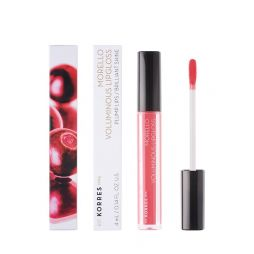 KORRES VOLUMINOUS LIPGLOSS 42 PEACHY CORAL 4ML