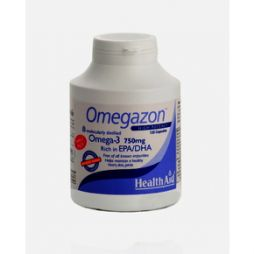 HEALTH AID Omegazon Omega-3 750mg 120 caps