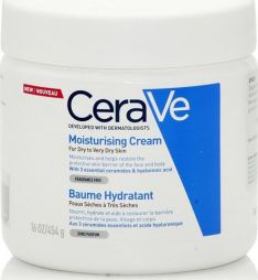 CeraVe Moisturizing Cream For Dry To Very Dry Skin 454gr