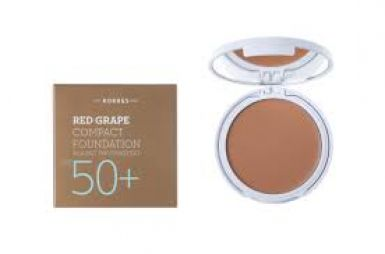 Κόκκινο Σταφύλι Compact Foundation Spf50 Medium 8gr