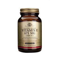 Vitamin E Natural 1000IU | 50 Μαλακές Κάψουλες