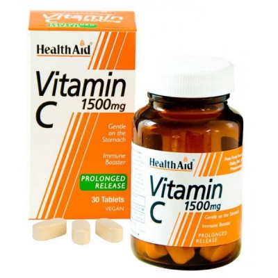 HEALTH AID VIT C 1500MG 30TABS