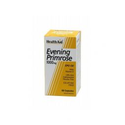 HEALTH AID EVENING PRIMROSE OIL 1000MG + VITAMIN E 30CAPS