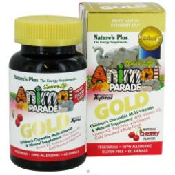 NATURE'S PLUS ANIMAL PARADE GOLD 60TABS