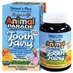 NATURE'S PLUS Animal Parade Tooth Fairy 90μασώμενες ταμπλέτες