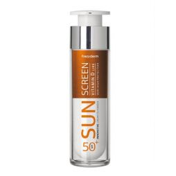 Αντηλιακή Κρέμα Προσώπου Sun Screen Vitamin D Like Skin Cream SPF50+ Frezyderm 50 ml