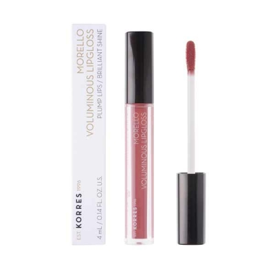 KORRES VOLUMINOUS LIPGLOSS 23 NATURAL PURPLE 4ML