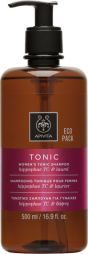 Apivita Eco Pack Shampoo Hippophae TC & Laurel 500ml