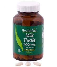 HEALTH AID MILK THISTLE SEED EXTRACT 30TABS