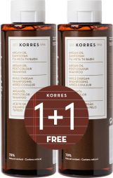 Korres Argan Oil Post-Colour Shampoo 250 ml 1+1 Δώρο